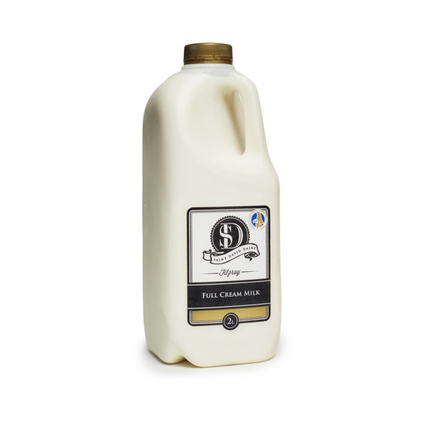 Local Food Market Co © 2019 St David Full Cream 2l Milk