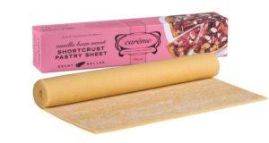 careme sweet shortcrust – vanilla bean1632