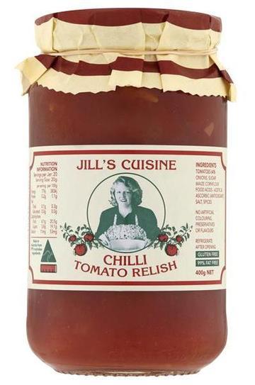 jill's cuisine chilli tomato relish 1399