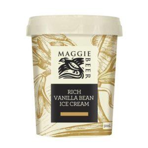 maggie beer rich vanilla bean ice cream1606