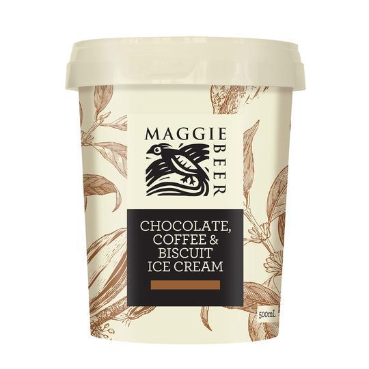 maggie beer tub icecream – choc coffee & bisc 1942