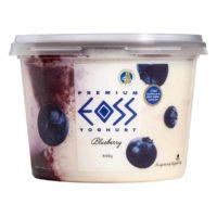 blueberry yoghurt 500g