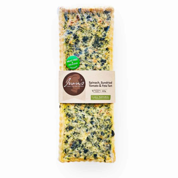 img 0021 spinach, sundried tomato & feta tart