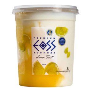 lemon twist yoghurt 900g