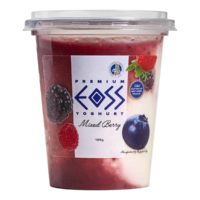 mixed berry yoghurt 190g