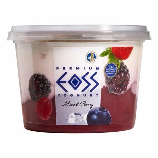 mixed berry yoghurt 500g