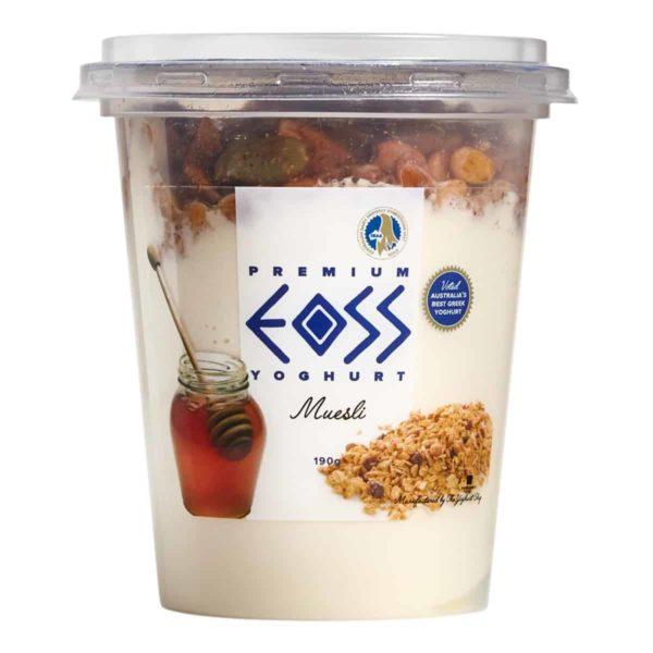 muesli yoghurt 190g