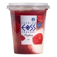 raspberry yoghurt 190g