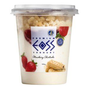 strawberry shortcake yoghurt 190g