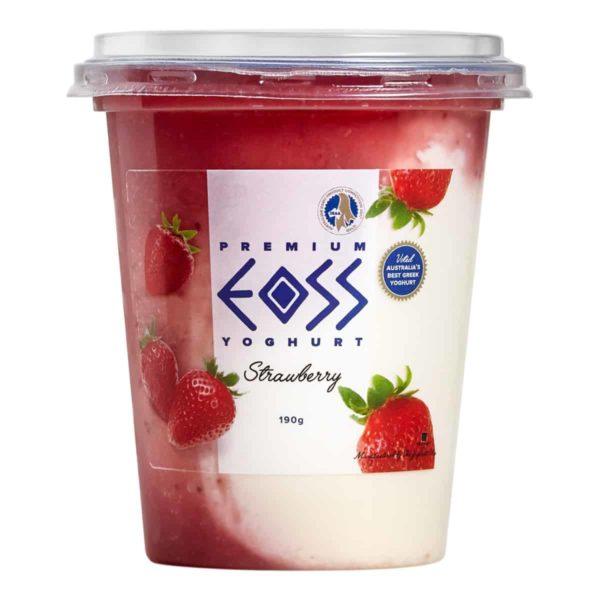 strawberry yoghurt 190g