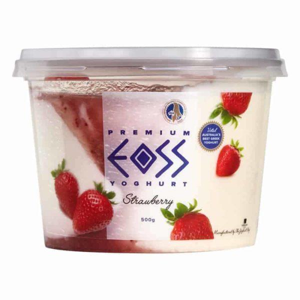 strawberry yoghurt 500g