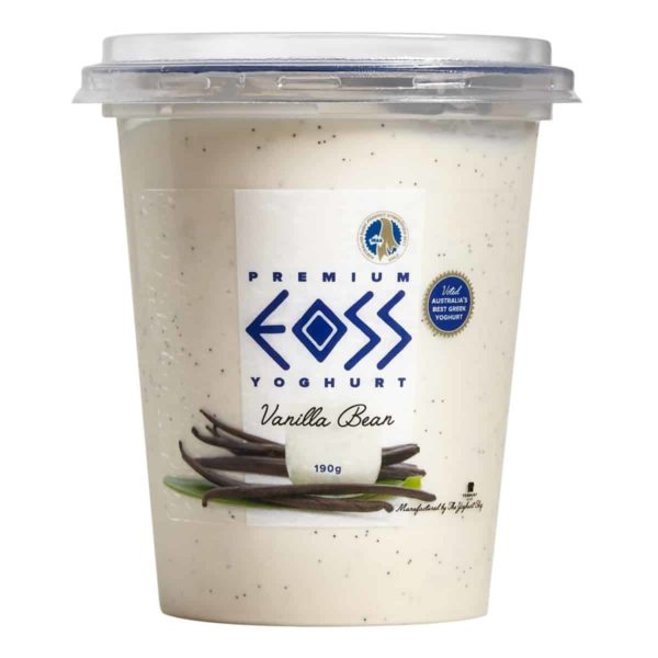 vanilla bean yoghurt 190g